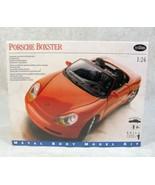 TESTORS PORSCHE BOXSTER 1:24 METAL CAR MODEL KIT NEW FACTORY SEALED - $34.64