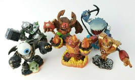 Activision Skylanders Giants Loose Figures Lot of 6 Use On Multi Platforms - $21.77