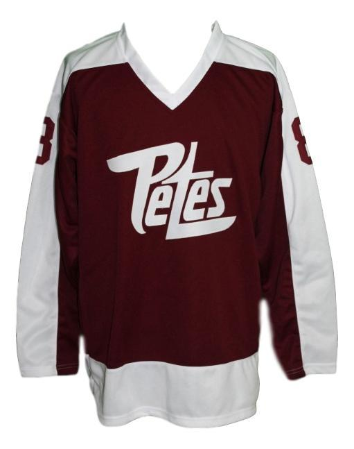 Custom   peterborough petes retro hockey jersey   1