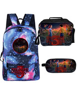 WM Stranger Things Season 3 Backpack Lunch Box Pencil Case Starry A - $43.99