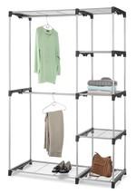 Light Sturdy Smart Solution DoubleRod Freestanding Closet w/Steel Resin ... - $50.00