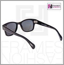 OLIVER PEOPLES Jannsson Sun OV5242S Shiny Black VFX Polarized Sunglasses 5242 image 3