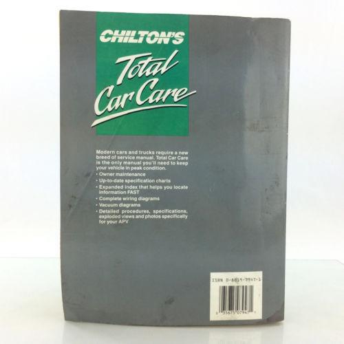 Mitsubishi Cars Trucks 1983-1989 Chilton 7947 Service Manual Repair Shop Book