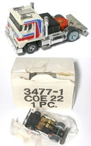 1978 Ideal TCR Racing Rig COE 22 Cab Over Engine Truck Slot Less Car 3477-1 MIB - $79.19