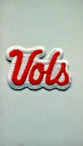 Vintage Tennessee Volunteers VOLS NCAA Embroidered Logo Iron On Patch - $5.88