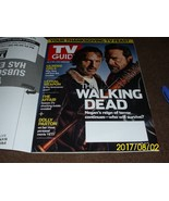 Jeffrey Dean Morgan Rick Grimes The Walking Dead TV GUIDE Magazine No la... - $9.79
