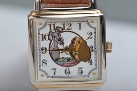 1990s Disney Store Lady and the Tramp Quartz Wrist watch Limited Edition... - $490.05