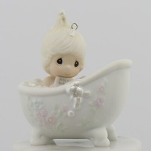 Precious Moments Vintage Collectible Porcelain Figurine He Cleansed My Soul - $5.97