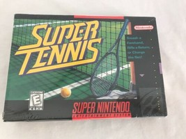 Super Nintendo SNES Super Tennis Video Game, New and Sealed - $23.75