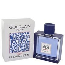Lhomme Ideal Sport by Guerlain Eau De Toilette Spray 3.3 oz for Men #541713 - $69.62