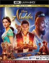 Disney Aladdin (4K Ultra HD + Blu-ray + Digital, 2019)