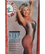 Jane Fondas Step and Stretch Workout VHS  Brand New!  (1994) - $16.99