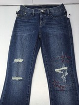 Rock & Republic Jeans Women 2 Seeing Stars Slim Distressed Sample New w/... - $18.25