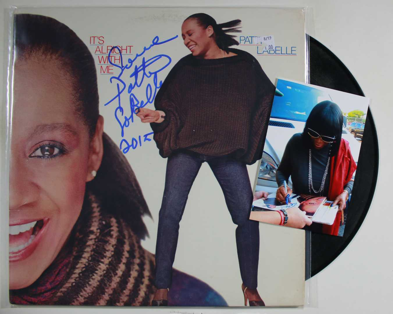 Primary image for Patti LaBelle Signed Autographed Record Album w/ Signing Photo