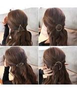 Mouth Fashion Woman Hair Accessories Hair Clip Pin Metal Geometric Alloy - $9.00