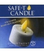 Safe-T Candle, By Dept. 56, LED Safety Candle, New In Box - $5.25