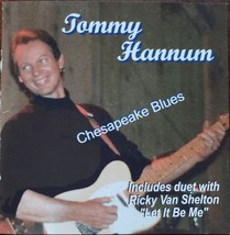 "Tommy Hannum ""Chesapeake Blues"" Autographed CD - $14.95"