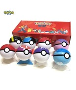 Pokemon Pokeball Set Pop-up Elf Ball 8Pcs/set Toys TAKARA TOMY Original  - $29.87