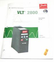 DANFOSS VLT 2800 OPERATING INSTRUCTIONS MANUAL image 1