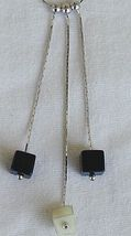 Black and white cubes necklace thumb200