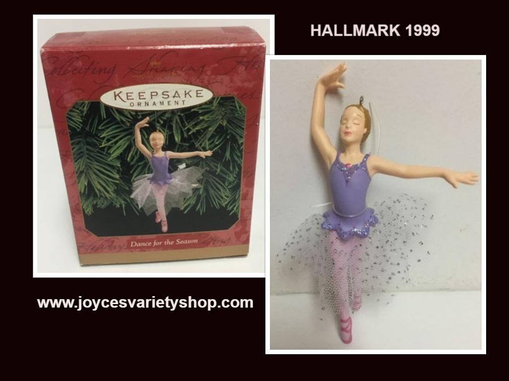 Hallmark dance ornament web collage