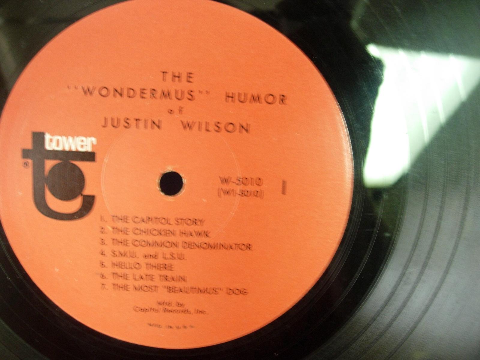 "The ""Wondermus"" Humor Of JUSTIN WILSON - Tower W-5010"