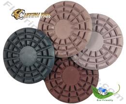Cheetah Stone Polishing Pad  5 Inch Step 3 Light Grit image 4