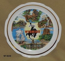 "Wonderful Wyoming 7"" Souvenir Plate - $12.99"