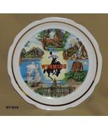 "Wonderful Wyoming 7"" Souvenir Plate - $12.99"