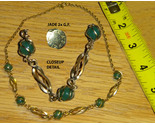 4 necklace gold tone and jade thumb155 crop