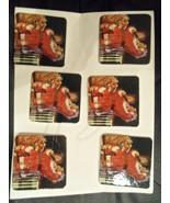 Vintage Coca Cola Santa Coasters - $6.95