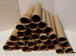 30 Empty Clean Paper Towel Roll Cardboard Tubes for Arts Crafts School P... - $9.76