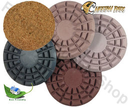Cheetah Stone Polishing Pad  8 Inch Set of 5 - $389.00