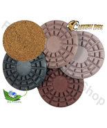Cheetah Stone Polishing Pad  8 Inch Set of 5 - $389.00
