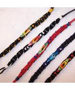 24 SURF BOARD WOVEN BRACELETS jewelry beach bracelet surfboard hippie it... - $22.55