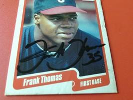 1990  FLEER  #  U-87  FRANK  THOMAS  ROOKIE   HAND SIGNED  AUTOGRAPH  CH... - $34.99