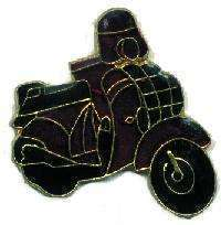 12 Pins - MOTOR SCOOTER , motorcycle hat lapel pin #911