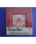 Mini Pig Ornamat cross stitch chart with double... - $6.00
