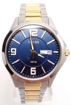 Citizen Men's BF2004-57L Silver Stainless-Steel Quartz Watch BAND DETACHED!!! - $21.60