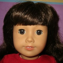 """American Girl 18"""" Truly Me Just Like You Doll #16 Dark Brunette w/ Puppy Dog image 2"""