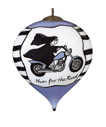 Ne'Qwa Art, Nun For The Road Ornament, by Jill Seale, New in Box - $33.50