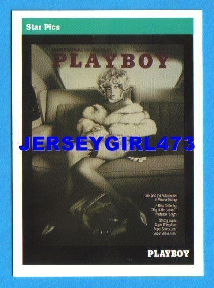 Bernie Becker 1992 Playboy May 1973 Cover Card #58