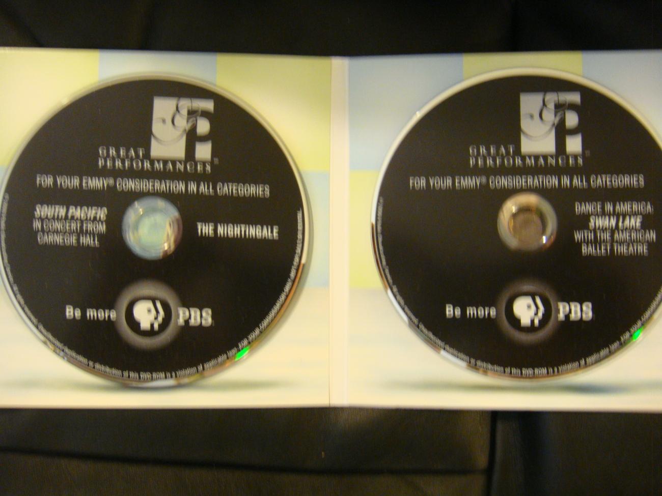 SOUTH PACIFIC EMMY DVD REBA MCENTIRE ALEC BALDWIN +BONUS DVD