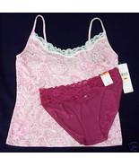 New $44 LAUREN Camisole M Taylor Bikini Panties combo S - $15.00