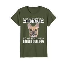 French Bulldog T-shirt - French Bulldog True Friend Shirts - $19.99+