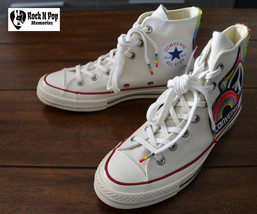 Converse Chuck Taylor All Star AS 70 Hi Pride Parade Rainbow 158420C Unisex - $149.99