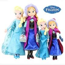 50cm\40cm Frozen  Anna\Elsa Plush Puppe Stoffpuppe Plüsch Doll Toys Gifts - $39.99