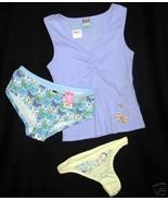 new $27 lot JENNI Sleep Shirt HUE + C CLUB Panties XS S - $9.00