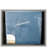 12x12 BLUE TRAVEL FAUX SUEDE SCRAPBOOK ALB... - $19.95