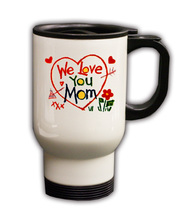 Personalized Custom Photo Mother's Day Travel Mug Gift #2 - $19.99